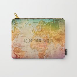 Color your World Carry-All Pouch