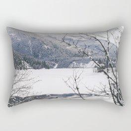 Three Valley Gap Rectangular Pillow