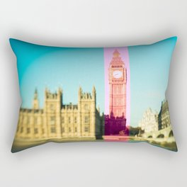 Big Ben Stripe in London Rectangular Pillow
