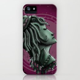 Lady of War iPhone Case