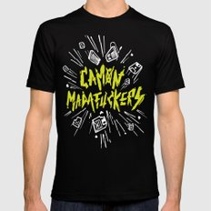 Camon Madafuckers MEDIUM Mens Fitted Tee Black