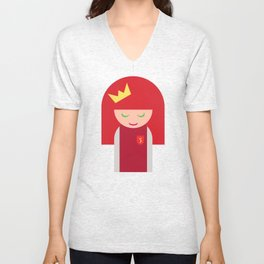 The Queen of Moons Charlie 1 Unisex V-Neck