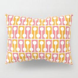 Geometric Pattern #192 (pink orange) Pillow Sham
