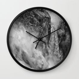 Power in the falls Wall Clock
