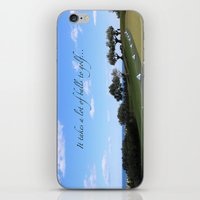 golf iPhone & iPod Skins featuring Golf by Rebecca Bear
