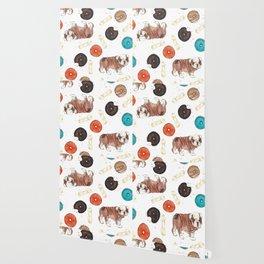 Bulldogs and donuts Wallpaper