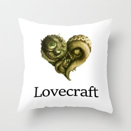 iLovecraft Throw Pillow