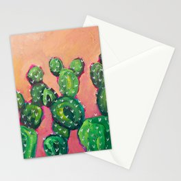 Prickly Pear Cacti Stationery Cards