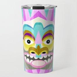 Hawaiian Tiki Aloha Travel Mug