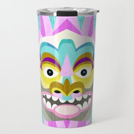 Hawaiian Tiki Aloha Travel Mug