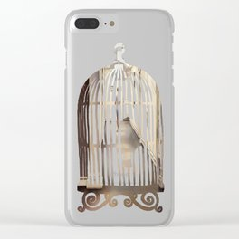Private Clear iPhone Case