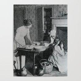 Apple Pie Baking Poster