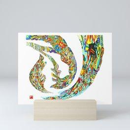 Aurora Festival Mini Art Print