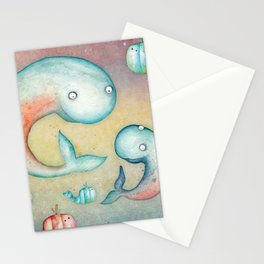 Whale's Tales Stationery Cards