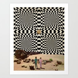 New dimensions VIII Art Print