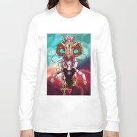 occult Long Sleeve T-shirts featuring Occult allegory by Kami-katamari