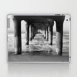 Manhattan Beach Pier | Manhattan Beach Photography | Manhattan Beach Art | Manhattan Beach Print Laptop & iPad Skin