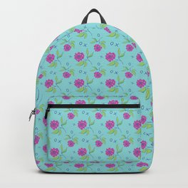 Peony Kiss Floral Design Backpack