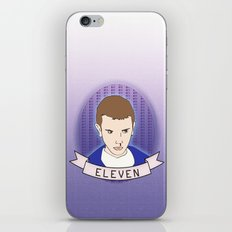 Eleven Stranger Things iPhone & iPod Skin