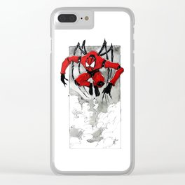 SpiderBot Clear iPhone Case