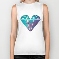 lucy Biker Tanks featuring Lucy by Rittsu