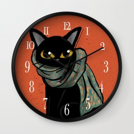Scarf Wall Clock