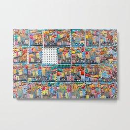 Colorful souvenirs from Bahia, Brazil. | Fine art travel photography print.  Metal Print