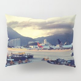 Dawn at Chek Lap Kok Pillow Sham
