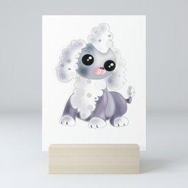 Cute Small Puppy Mini Art Print
