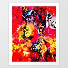 4 Åvengers. Art Print