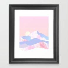 Dune Sun Framed Art Print
