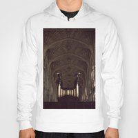 college Hoodies featuring King's College Cambridge by David Hohmann