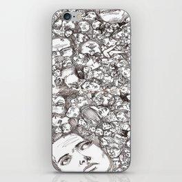 People-B iPhone Skin