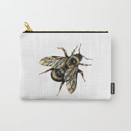 Realistic Bumble Bee Drawing Carry-All Pouch