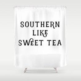 Southern like Sweet Tea Shower Curtain