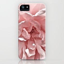 Pink Blush Rose iPhone Case