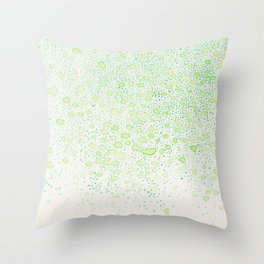 flavor of young leaves Throw Pillow