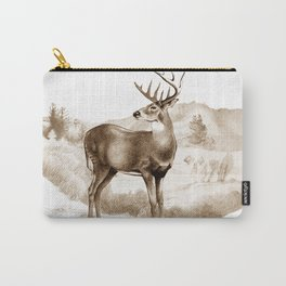 White-tailed Stag Sniffing the Air Carry-All Pouch