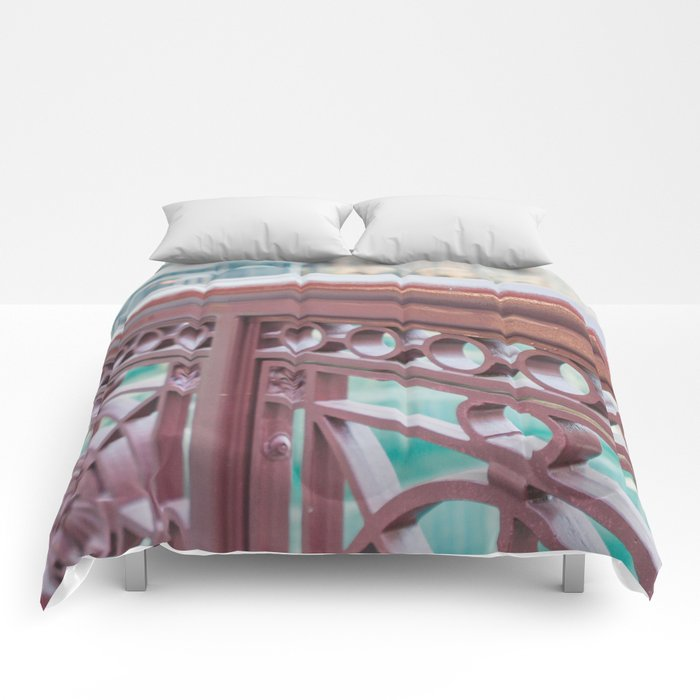 Chicago River Views Comforters