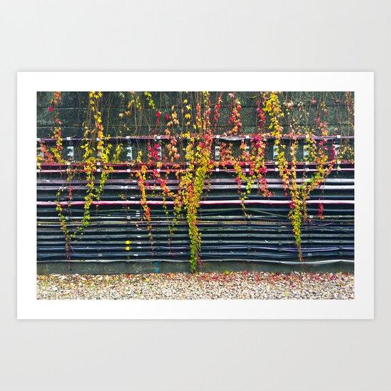 Cables Art Print