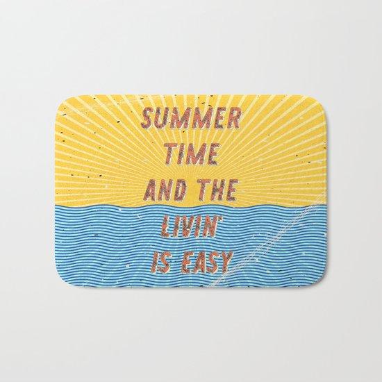 Summertime - A Hell Songbook Edition Bath Mat