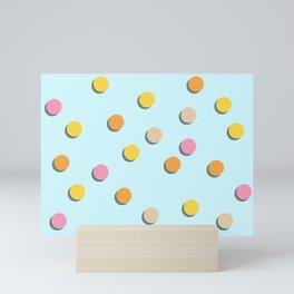 Polka Dot Confetti Mini Art Print