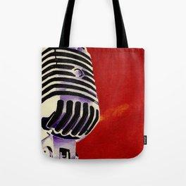 Microphone Painting Tote Bag