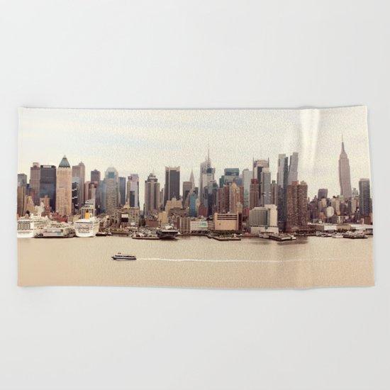 NYC Beach Towel