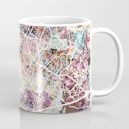 Charlottesville map Virginia Coffee Mug