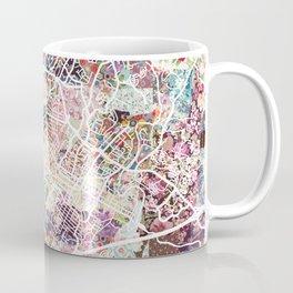 Charlottesville map Virginia Coffee Mug