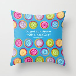 Colorful Texture Throw Pillow