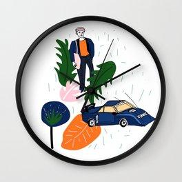 natural pattern Wall Clock
