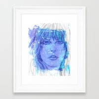 stevie nicks Framed Art Prints featuring Stevie Nicks by Tara Kostick
