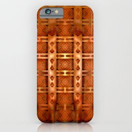 Great copper plate ... iPhone Case